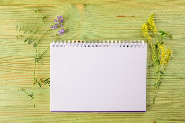花束の野生の花