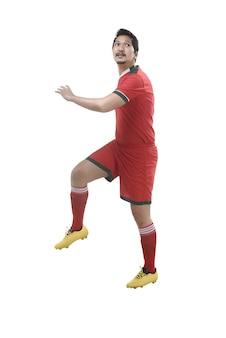 Футбольный заголовок игрока
