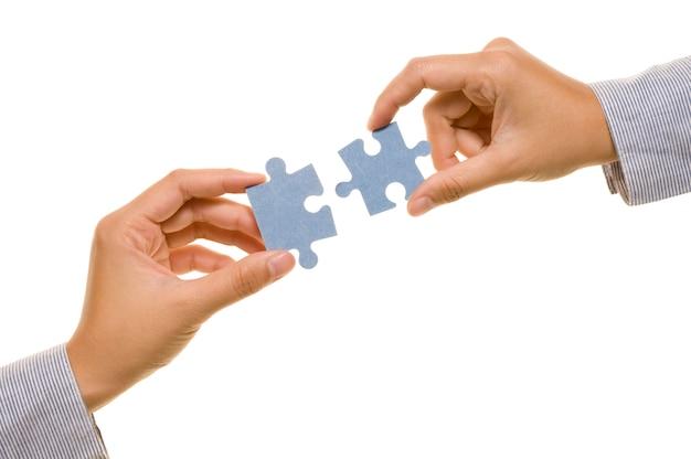 手とパズル