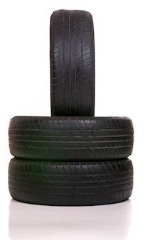 タイヤが磨耗している