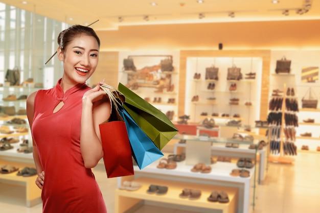 Концепция счастливого китайского нового года