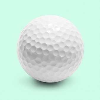 分離されたゴルフボール