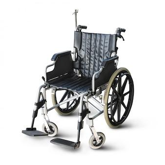 Инвалидная коляска, изолированные на белом