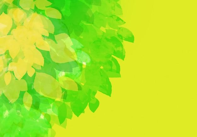 抽象的なカラフルな水彩背景。デジタルアートペインティング