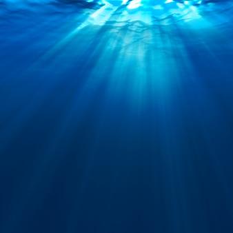 水中の抽象的な背景