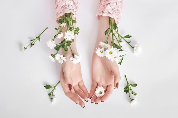花エキス配合のナチュラルビューティーハンド化粧品