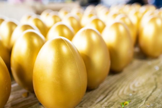 黄金のイースターエッグの分離