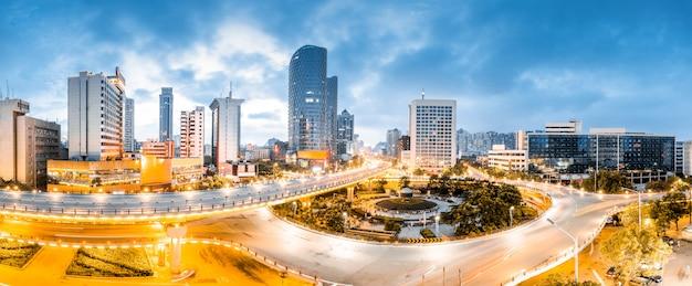 南昌中国の街並み。