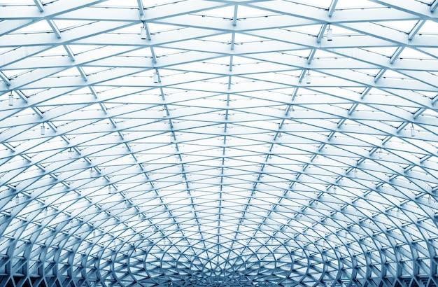 オフィスセンター内の丸い天井。