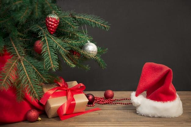 Рождественский праздник фон,