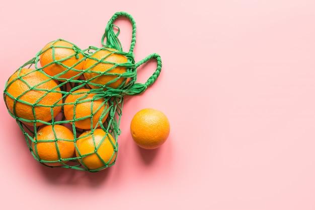 Сумка с оранжевым.