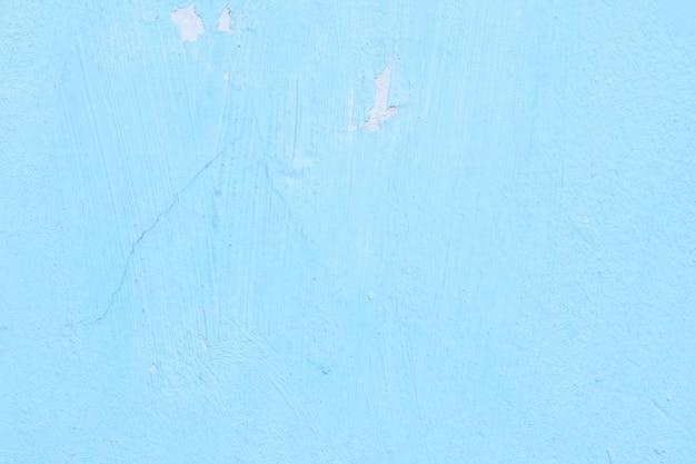 セメント塗装壁背景、ベビーブルーパステルカラーテクスチャ