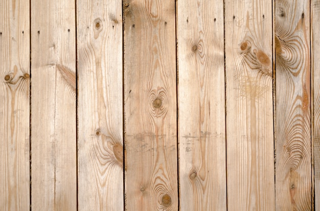 未塗装の茶色の木の板の背景