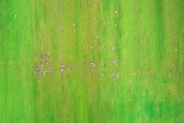 ヴィンテージ塗装の鉄の壁のテクスチャ