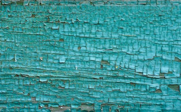 Фон зеленый и синий окрашенные деревянные доски, окрашенные текстуры древесины