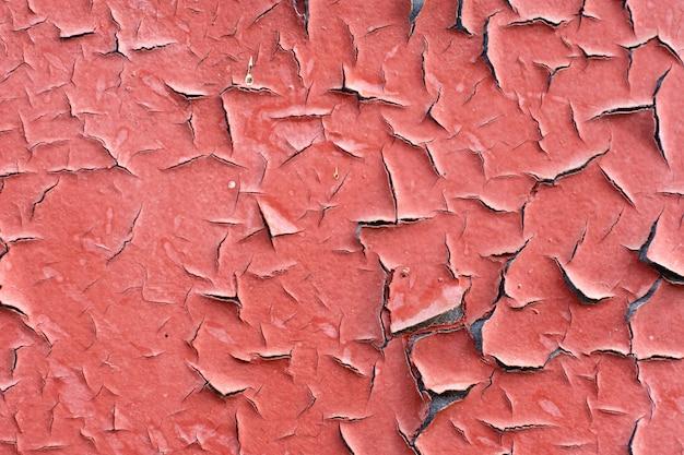 ヴィンテージ塗装鉄の壁のテクスチャ
