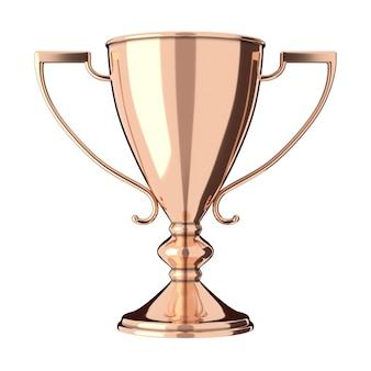 Трофей из розового золота, бронзы
