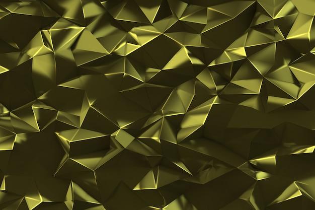 Низкополигональная цифровой геометрический фон