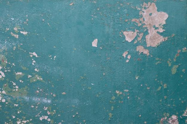 抽象的な古い青いセメントの壁のテクスチャ