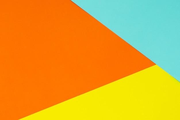 柔らかい青、黄色、オレンジ。カラフルなテクスチャ。