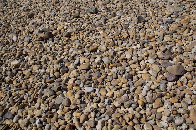 小石石の背景の外。