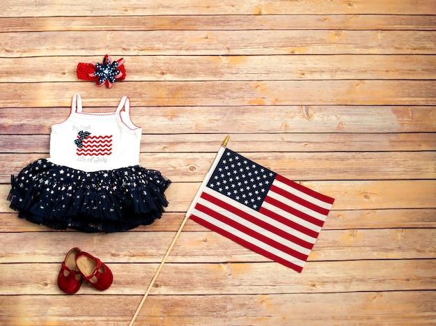 Платье для малышки на день независимости