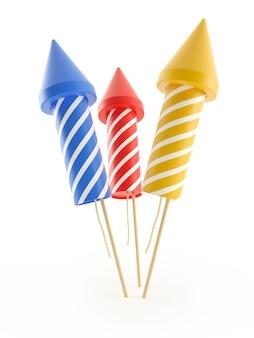 Набор фейерверков ракет на праздники