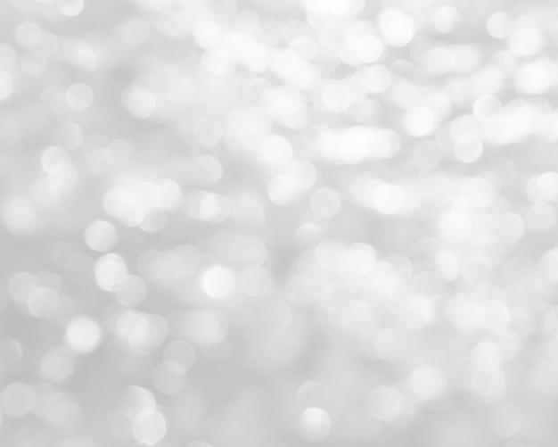 Белый размытый фон с боке.