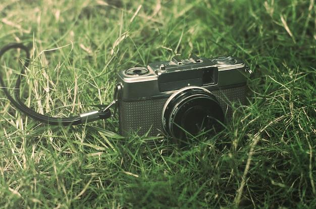 Винтажная камера со световым эффектом
