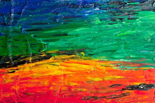 Абстрактная акриловая картина искусства фон.