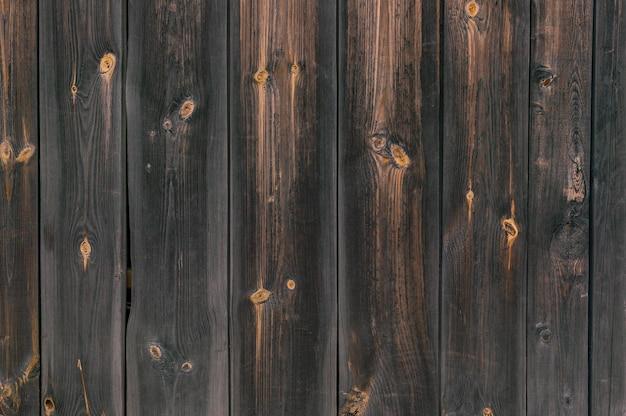 古い木の板の垂直方向のテクスチャ。素朴な背景