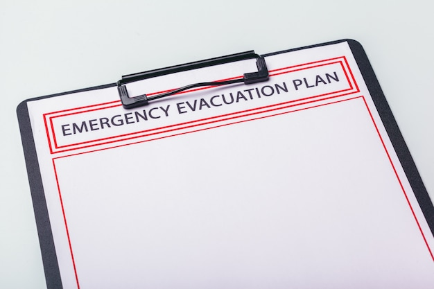 План аварийной эвакуации
