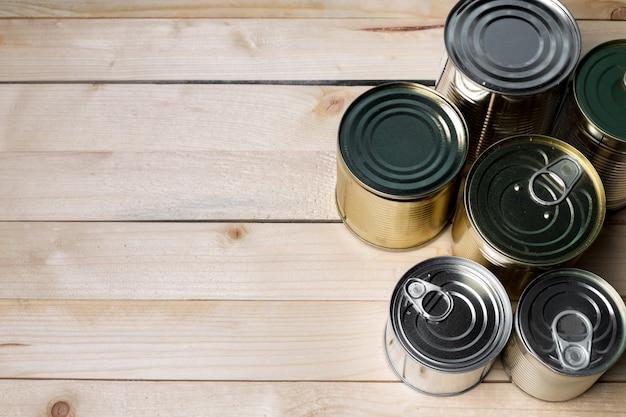 木の食糧のためのブリキ缶