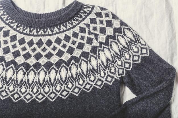 セーターの質感