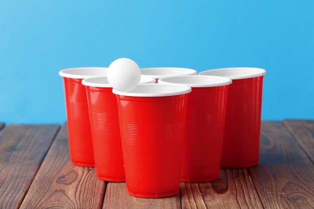 カレッジパーティースポーツ - ビール卓球