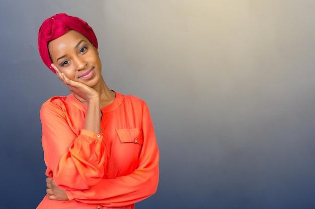 若いアフロの美しさ