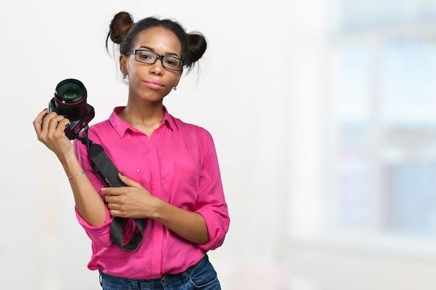 アフリカ系アメリカ人の写真家