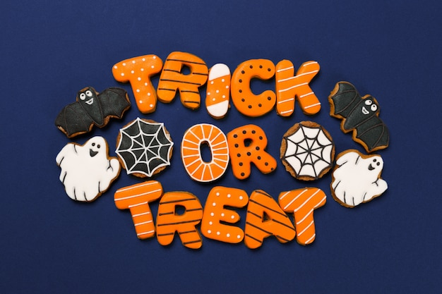 Хэллоуин украшение с печеньем