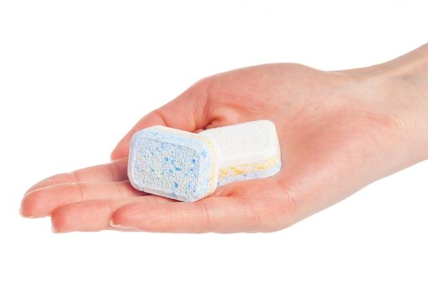 白の食器洗い機錠