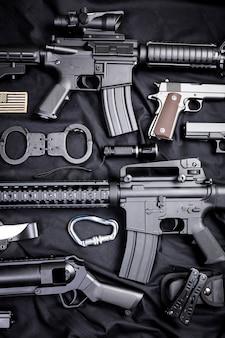 Современное оружие, черное
