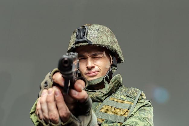 ロシアの兵士