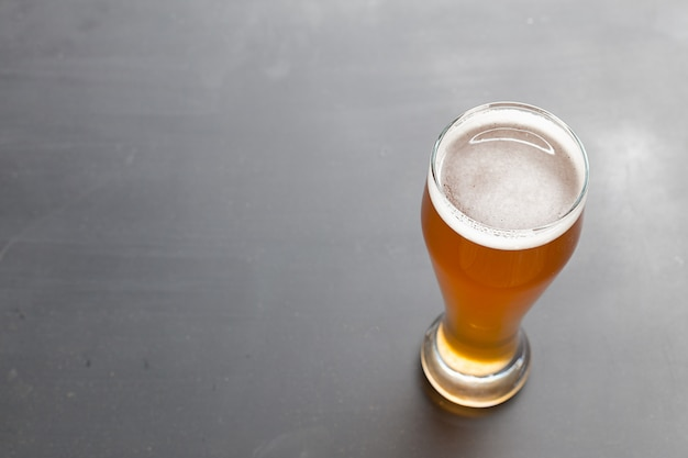 ラガービールのテーブル