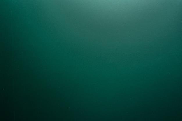 空白の緑のチョークボードの背景