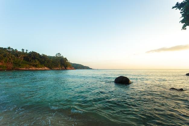 海の熱帯の楽園