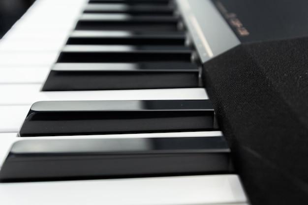 ピアノとピアノキーボード
