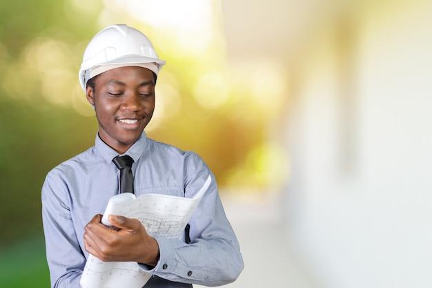 アフリカ系アメリカ人男性建築家