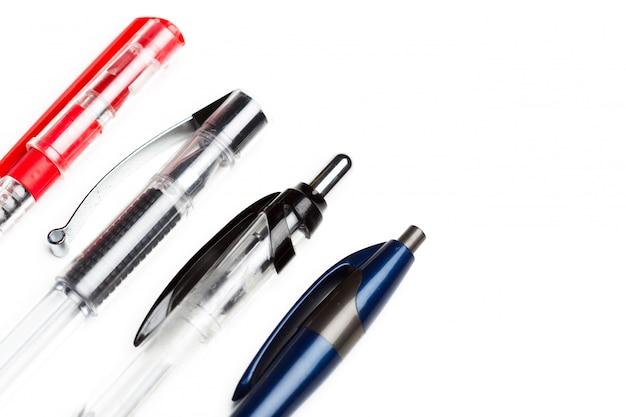 分離されたペン、クローズアップ