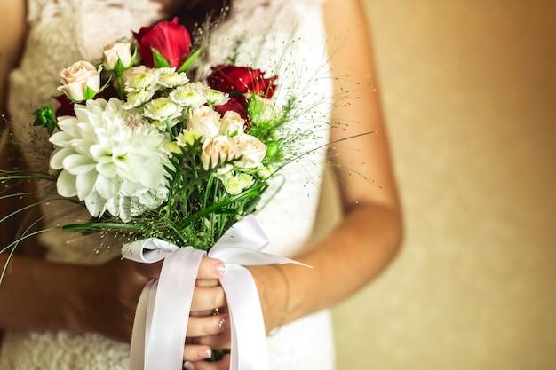 結婚式、花嫁、花婿