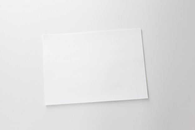 用紙テンプレートの空のシート