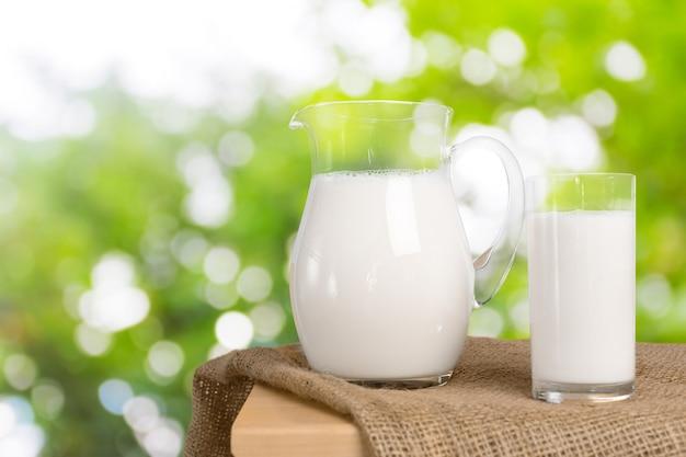 ミルクとグリーンスペース